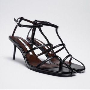 ZARA Thin Strap Heels | 38